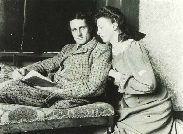 Photograph of Charles Philips Trevelyan & Molly Trevelyan