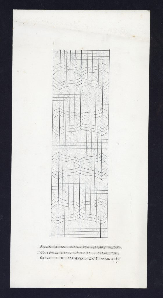 Plan for repair of East Window, Church of St Edmund, Sedgefield
