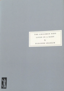 A plain grey front cover of The Children Who Lived in a Barn.