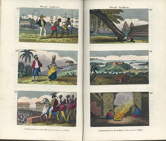 Pages 68 and 69 from Scenes in America, for the Amusement and Instruction of Little Tarry-at-Home Travellers