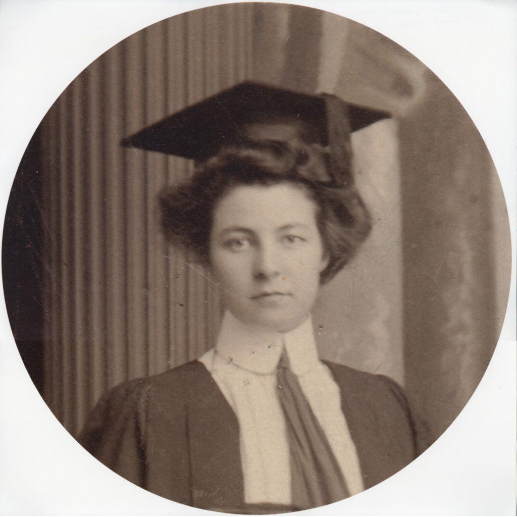 Image of Ruth Nicholson graduating