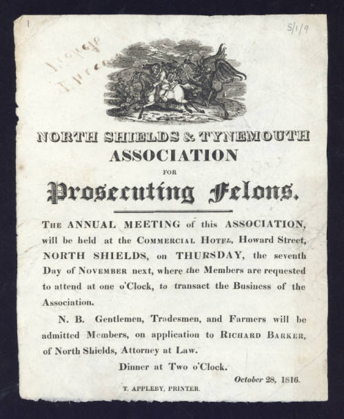 Poster illustrative of items in the Broadside Collection.