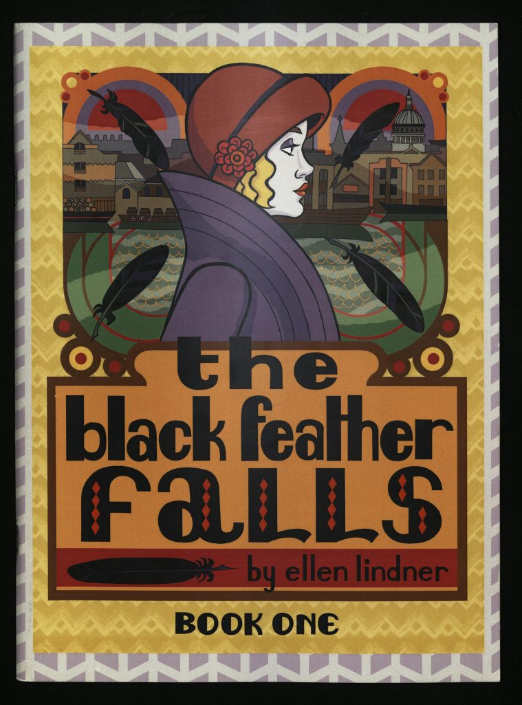 The Black Feather Falls: A Comic Book Series of Interwar Mysteries, Crime and the 1920s