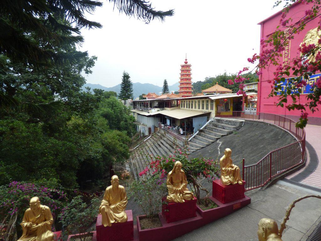 The 10,000 Buddhas Monastery