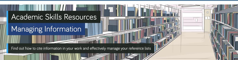 Managing Information banner image