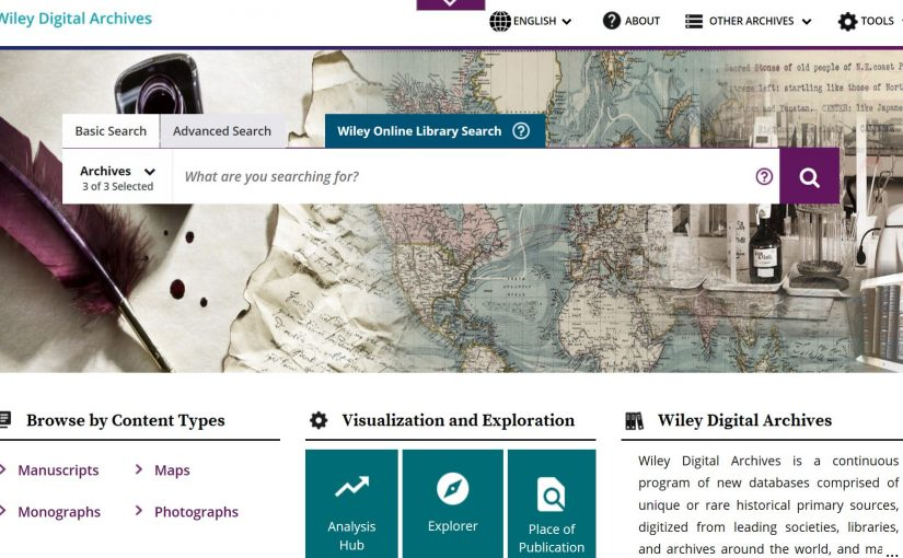 Wiley Digital Archives on trial