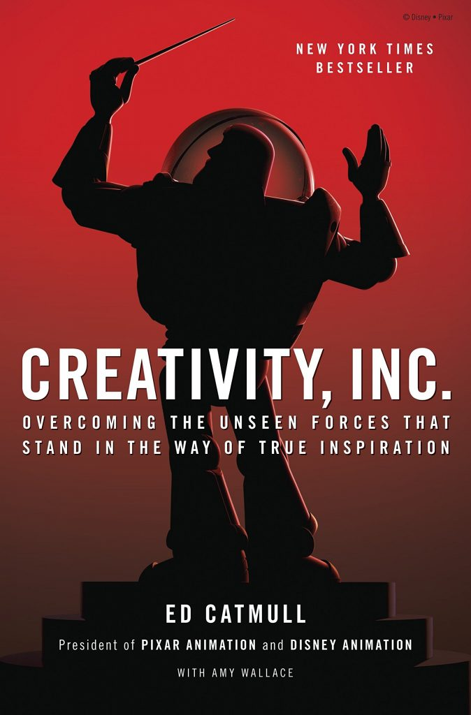 Book cover image of 'Creativity, Inc.' by Ed Catmull