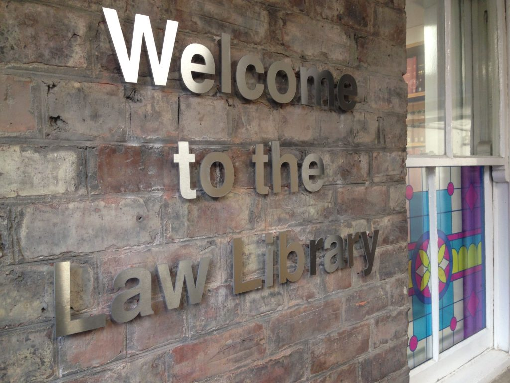 Welcome to Law Library
