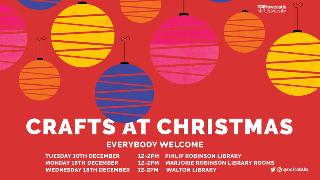 Dates of Crafts at Christmas events