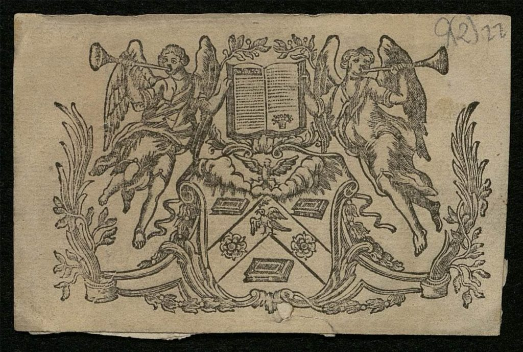An image of the Arms of The Worshipful Company of Stationers and Newspaper Makers.