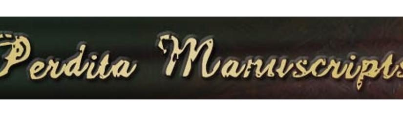 Resource in focus: Perdita Manuscripts