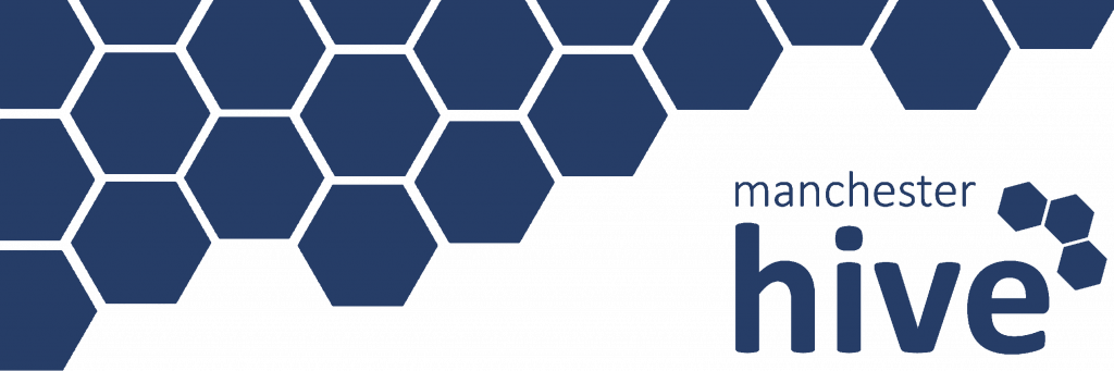 Manchester Hive banner logo