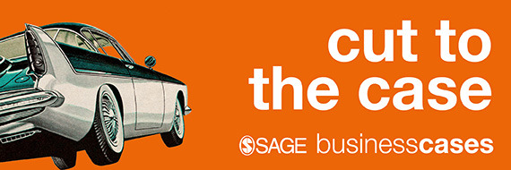 'Cut to the case' banner for Sage Business Cases