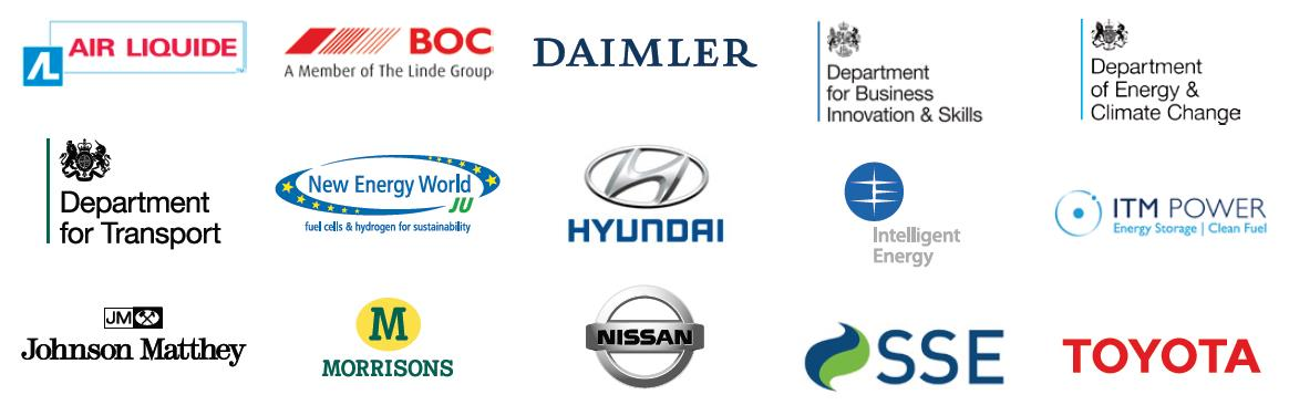 Figure 3. UK H2Mobility is a coalition between the following groups