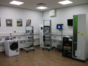 Smart grid lab at Newcastle University