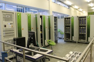 Energy storage test bed at Newcastle University