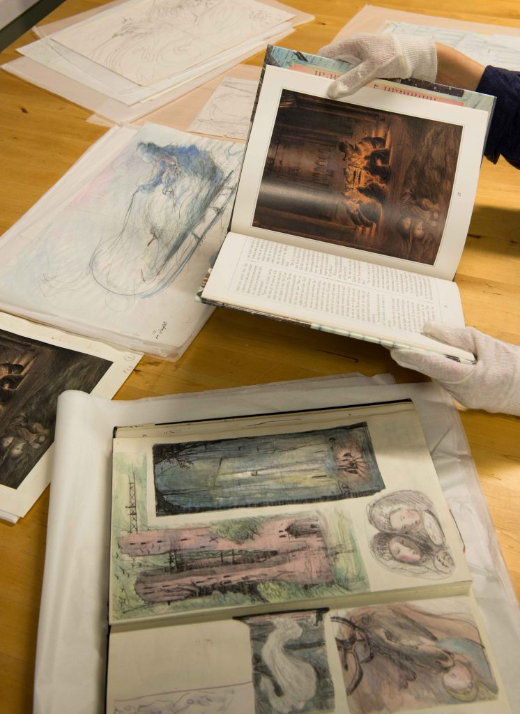 Collections. Image: Seven Stories, the National Centre for Children's Books. Photography by Damien Wootten.