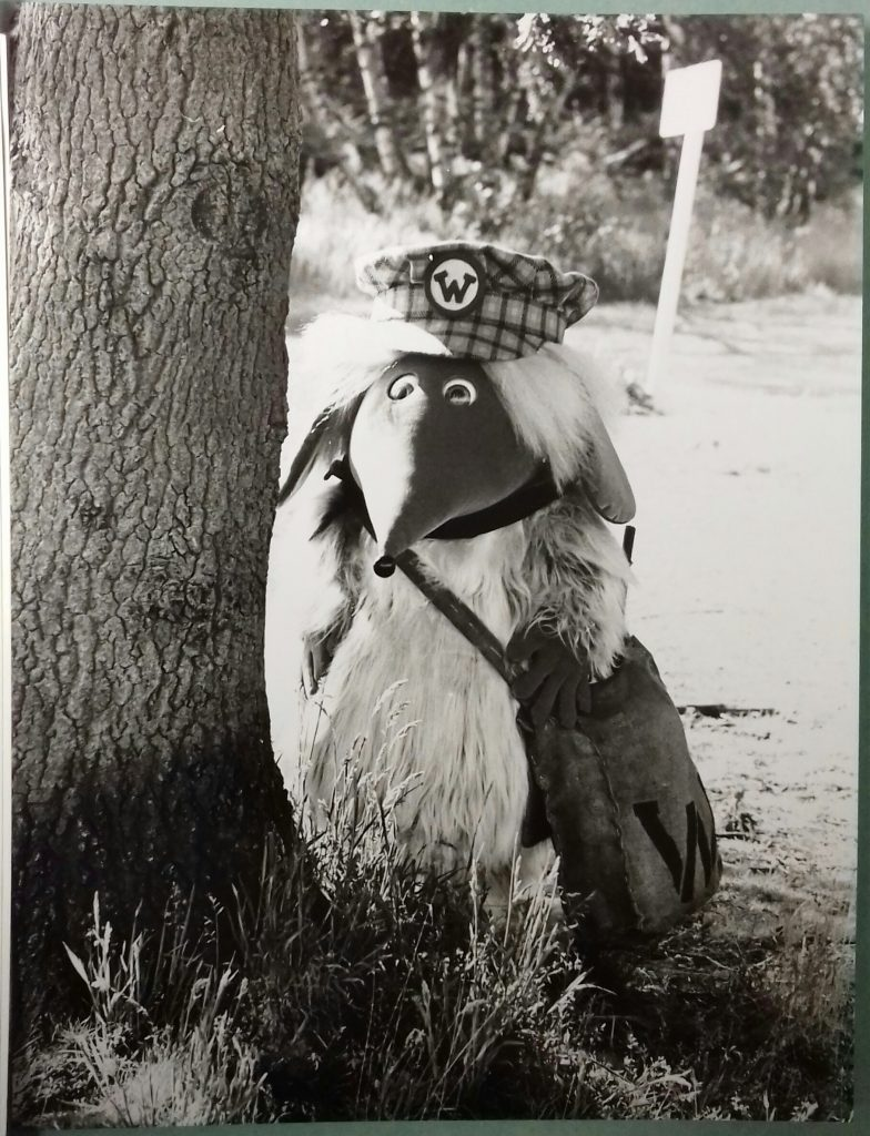 Still from The Wombles film. Image: Seven Stories, The National Centre for Children's Books