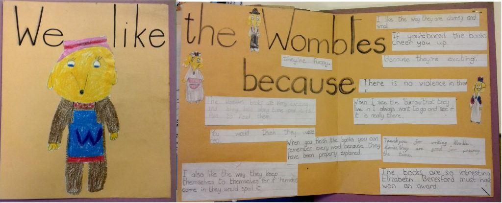 We like the Wombles because... Image: Seven Stories: The National Centre for Children's Books