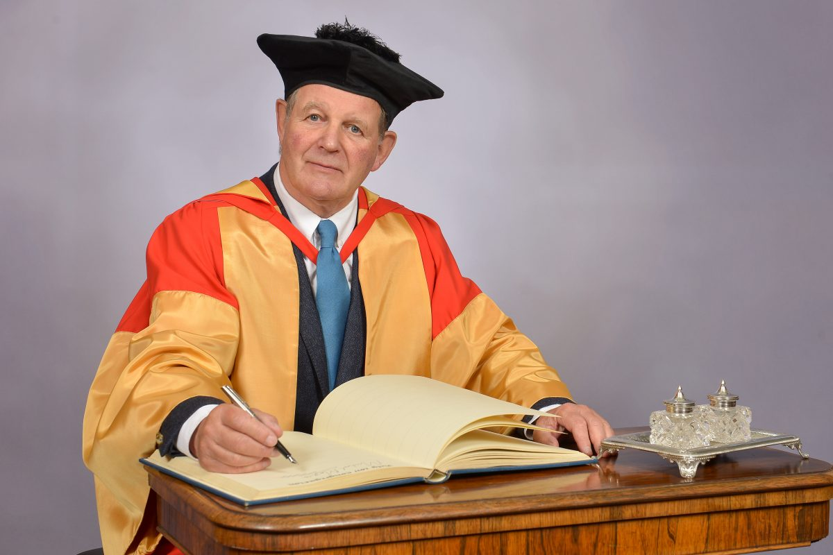 Newcastle University awards Michael Morpurgo honorary degree