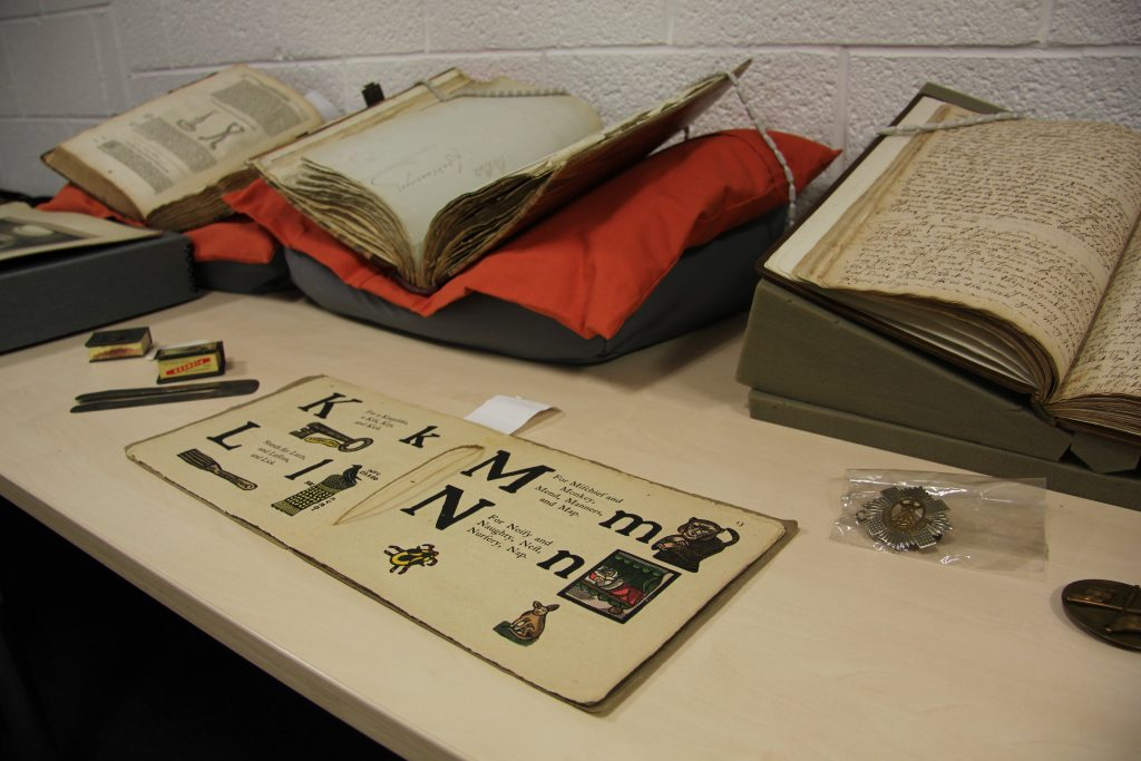 Newcastle University's Special Collections, including Old Aunt Elspa's ABC. Image: Newcastle University