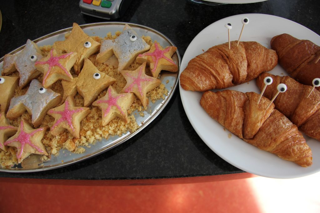 Seaside shortbread and crustacean croissants! Image: Newcastle University