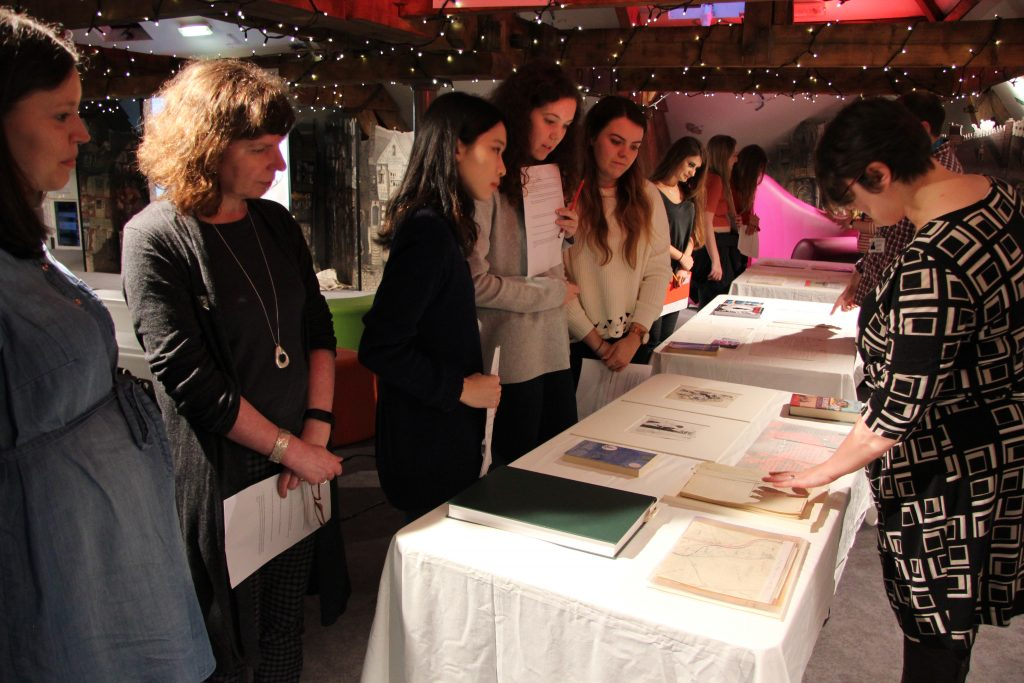 Students from Newcastle University's BA in English Literature visiting Seven Stories. Image: Newcastle University