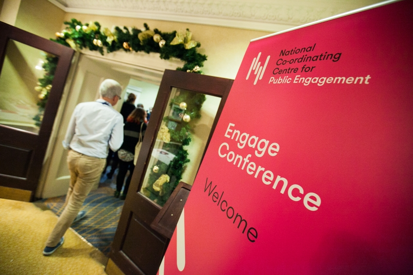 The Engage Conference 2017. Image: NCCPE
