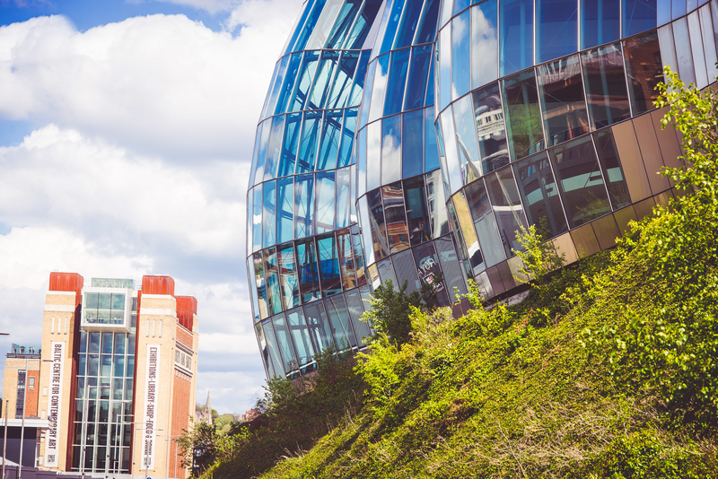 Newcastle is home to many museums and attractions, including the Baltic art gallery and the Sage Gateshead. Image: Newcastle University, photography by Chris Bishop