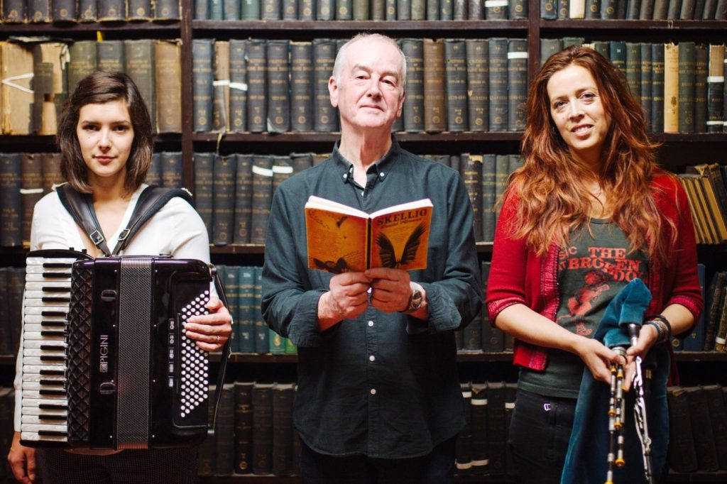 Amy Thatcher, David Almond and Kathryn Tickell will perform as part of the festival. Photograph by Georgia Claire