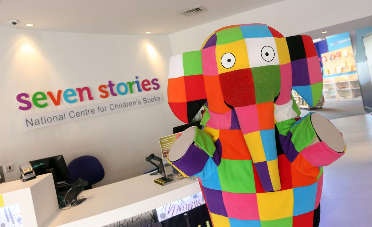 Elmer's Colourful Concert at Seven Stories
