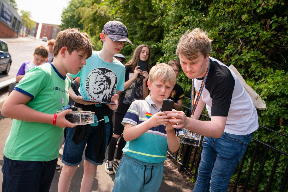 Making Ouseburn better: Sense Explorers at Seven Stories