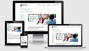 The Postgraduate website goes mobile