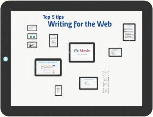 Screenshot of Prezi - writing for the web
